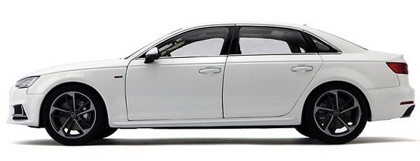 โมเดลรถ โมเดลรถเหล็ก โมเดลรถยนต์ Audi A4L white 3