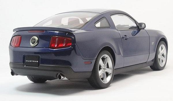 โมเดลรถ โมเดลรถเหล็ก โมเดลรถยนต์ Ford GT 2010 navy 4