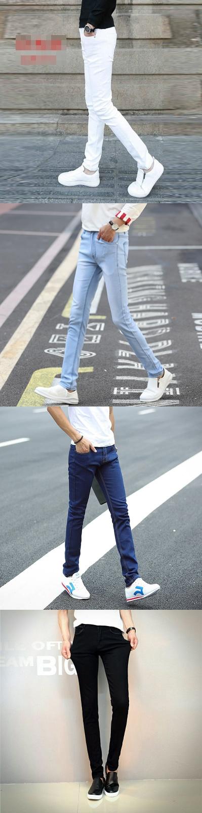 รองเท้าชาย กางเกงยีนส์สไตล์วินเทอร์