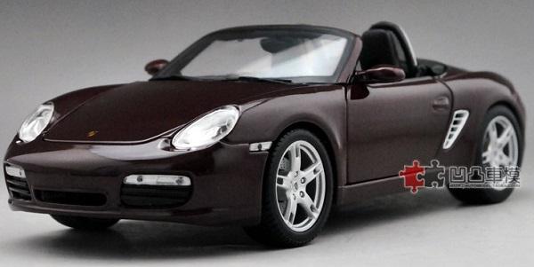 โมเดลรถ โมเดลรถเหล็ก โมเดลรถยนต์ Porsche 987 Boxster 1