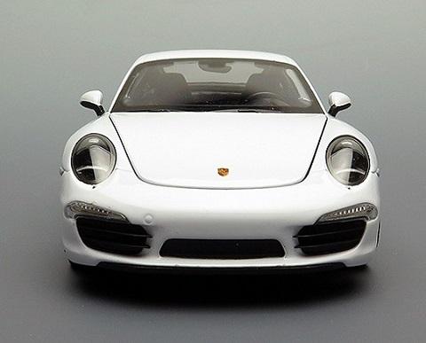 โมเดลรถ โมเดลรถยนต์ โมเดลรถเหล็ก porsche 911 carrera s white 5