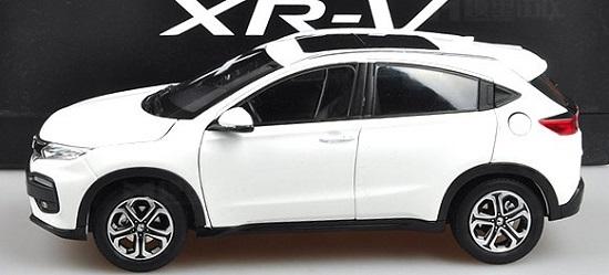 โมเดลรถ โมเดลรถเหล็ก โมเดลรถยนต์ Honda XRV ขาว 3