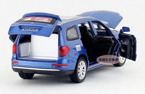 โมเดลรถเหล็ก โมเดลรถยนต์ Benz GL500 12