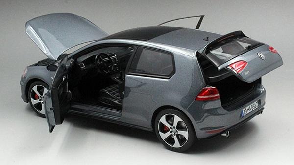 โมเดลรถ โมเดลรถเหล็ก โมเดลรถยนต์ Volkswagen Golf 7 grey 5