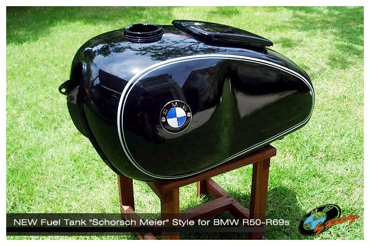 """ถังน้ำมันแต่ง ถังใหญ่ทรงSport """"Schorsch Meier"""" Style งานRe-Pro"""