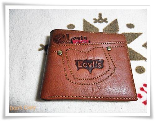กระเป๋าสตางค์ใบสั้น หนังแท้ Levis L013