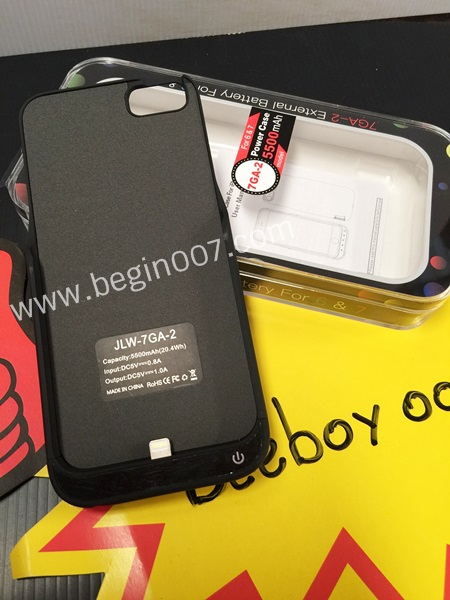เคสแบตสำรอง Power Case ไอโฟน i7จอ 4.7 ความจุสูงถึง 5500mAh