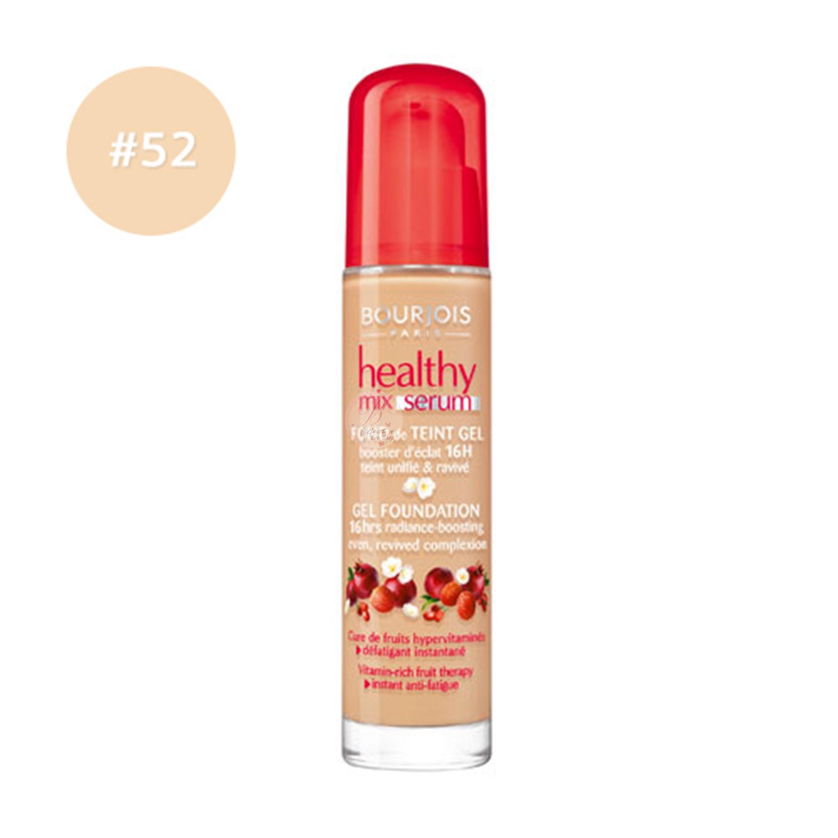 Bourjois Healthy Mix Serum Gel Foundation #52 Vanilla Clair 30ml