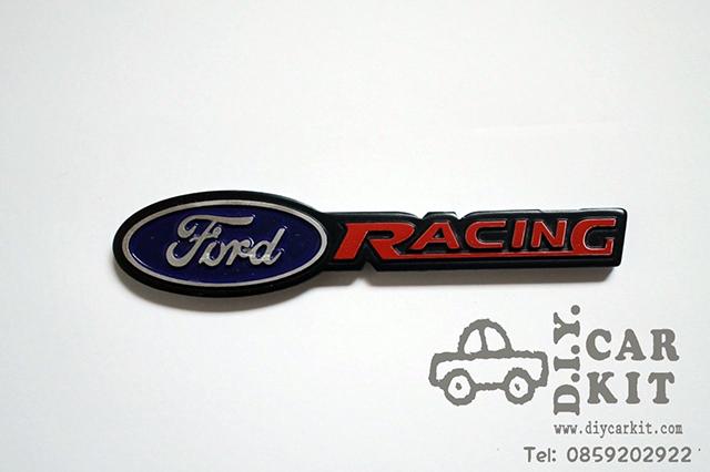 โลโก้Ford Racing ตัวเล็ก แต่ง Ranger'12-16