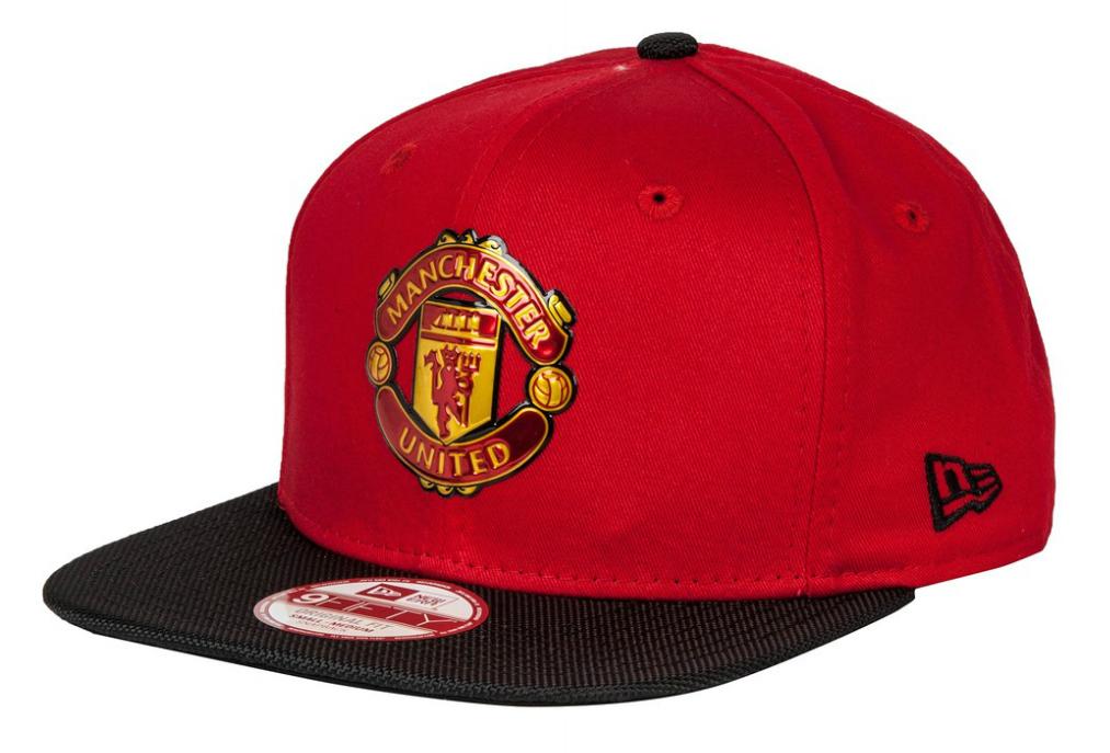 หมวกแมนเชสเตอร์ ยูไนเต็ดของแท้ New Era 9FIFTY Ballistic Nylon - Snapback Cap สีแดง