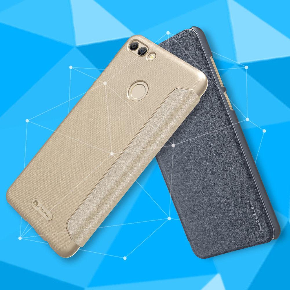 NILLKIN เคส Huawei Y9 2018 รุ่น Sparkle Leather Case แท้ !!