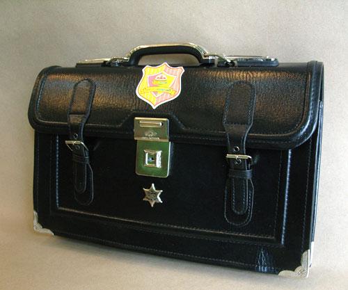 กระเป๋าถือนักเรียน ญี่ปุ่น High School แบบ 1 ตัวล็อค ขนาด 17 นิ้ว