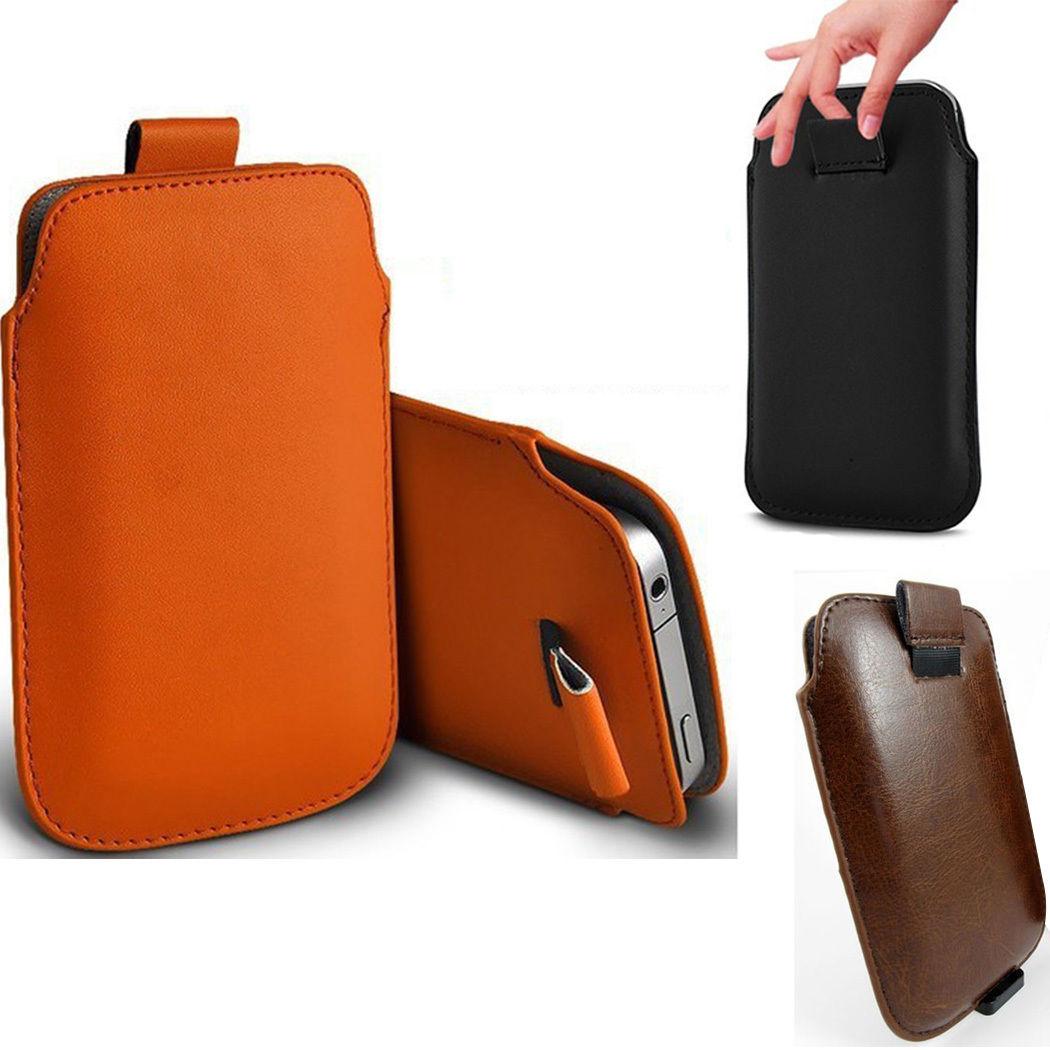 "Pull UP Leather Bag ซองหนัง มือถือ 4.7 ""Samsung iPhone 6 / 6s / 7 / 8"