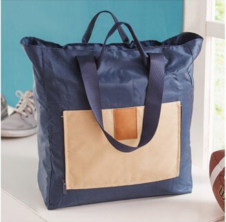 Folding Shopping Bag กระเป๋าช็อปปิ้ง/เดินทางพับเก็บได้