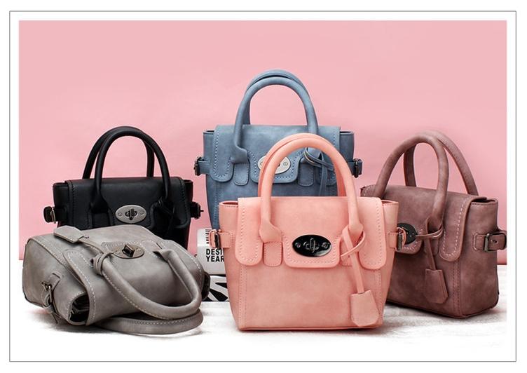 [ พร้อมส่ง ] - กระเป๋าแฟชั่น สไตล์เกาหลี ใบเล็กๆกระทัดรัด ดีไซน์สวยน่ารัก มีสายสะพายยาว