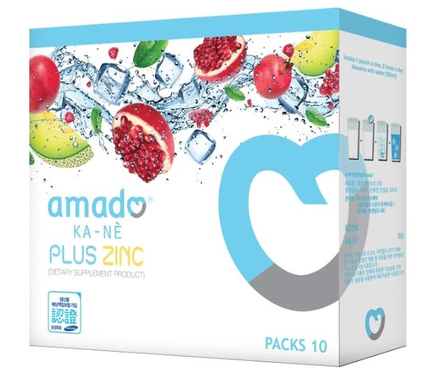 อมาโด้ กาเน่ กลูต้าไธโอน Amado Kane Glutathione 1 กล่องมี 10 เม็ดฟู่