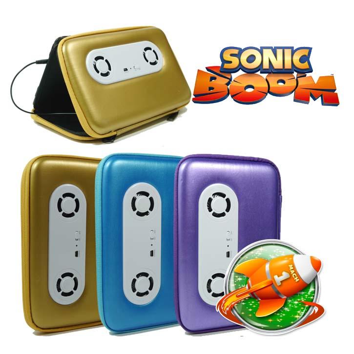 เคสแท็บเล็ตลำโพง 7 นิ้วใส่ได้ทุกรุ่น รุ่น Sonic Boom !!!