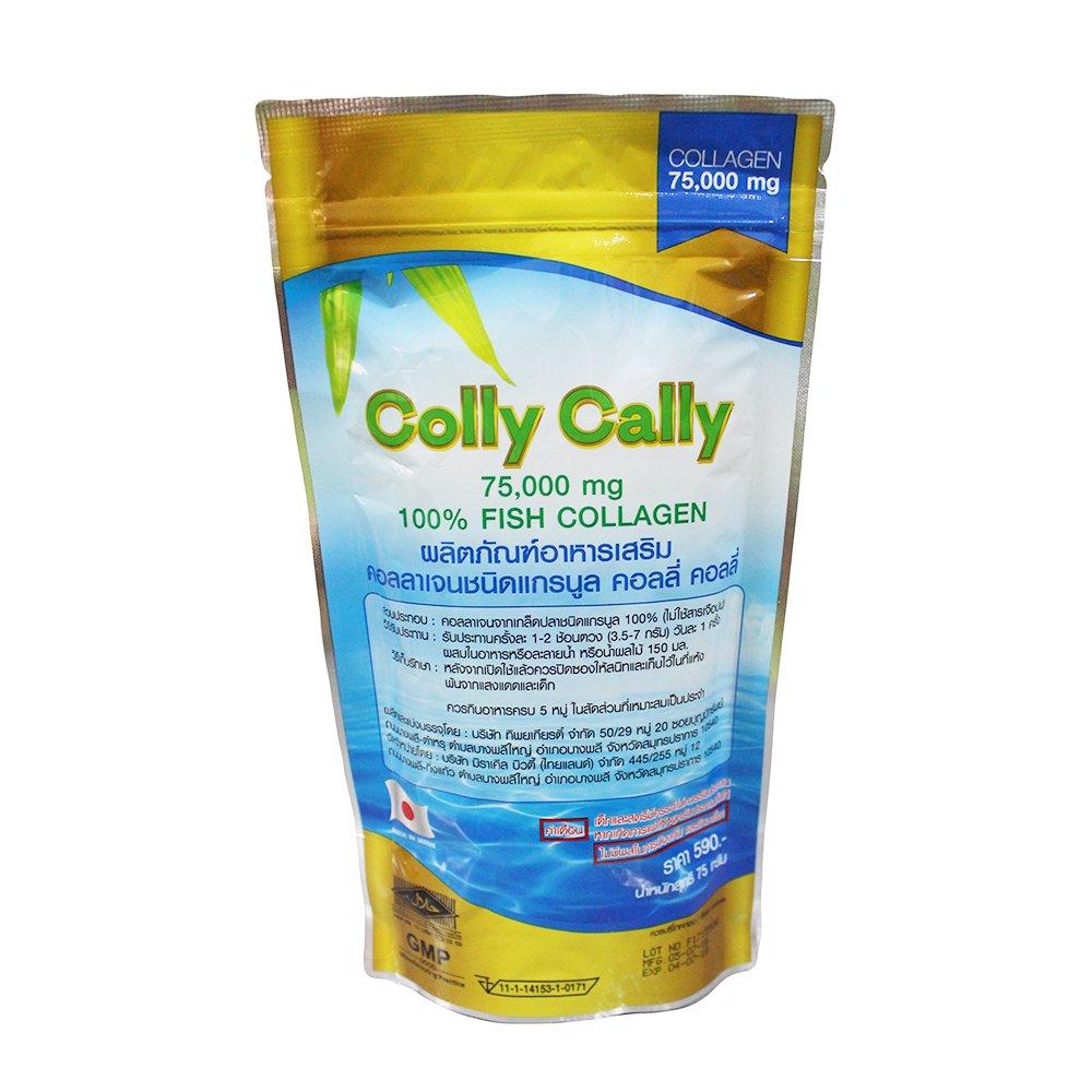 คอลลี่ คอลลี่ Colly Cally 75000mg 100% Fish Collagen 1 ซอง 75 กรัม