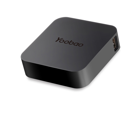 Yoobao Magic Cube Power Bank แบตสำรอง ความจุ 7800 mAh (สีดำ)