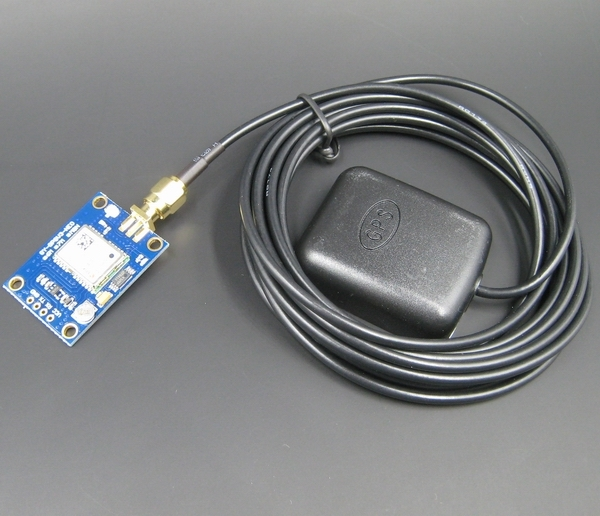 Ublox NEO-M8N GPS Module with Active Antenna (UART interface)