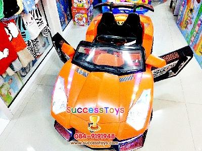 รถแบตเตอรี่เด็กนั่งไฟฟ้า รุ่น BC3089 รถแลมโบกินี่ 2 มอเตอร์ +2 แบต + SD การ์ดได้ + ล้อพลาสติก