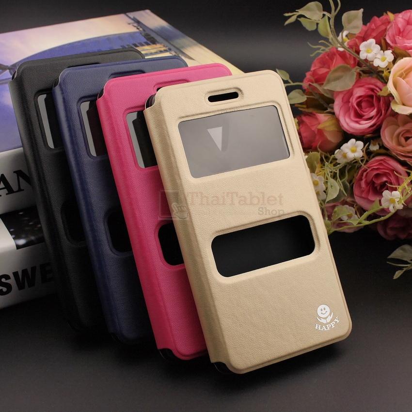 เคส Huawei P10 รุ่น 2 ช่อง รูดรับสาย หนังเกรด A