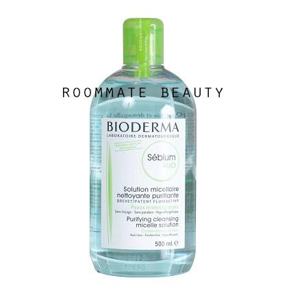 Bioderma Sebium H2O Solution Micellaire (สีเขียว) 500ml