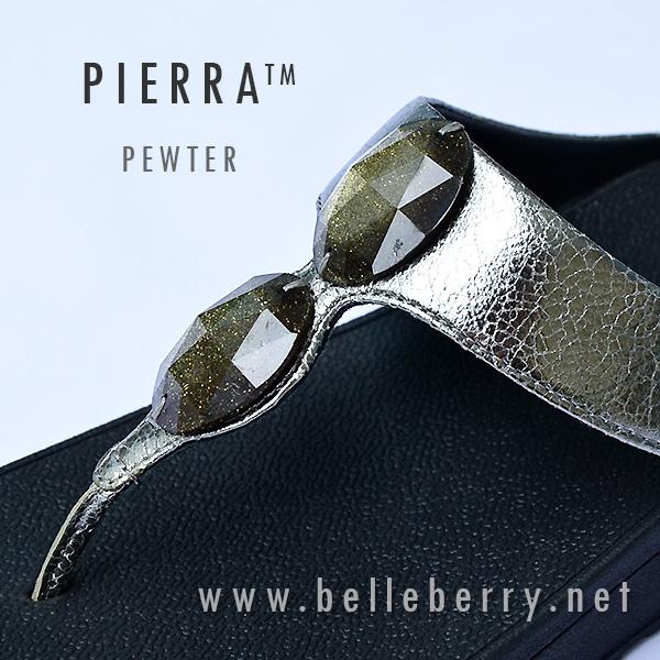 รองเท้า fitflop pierra pewter