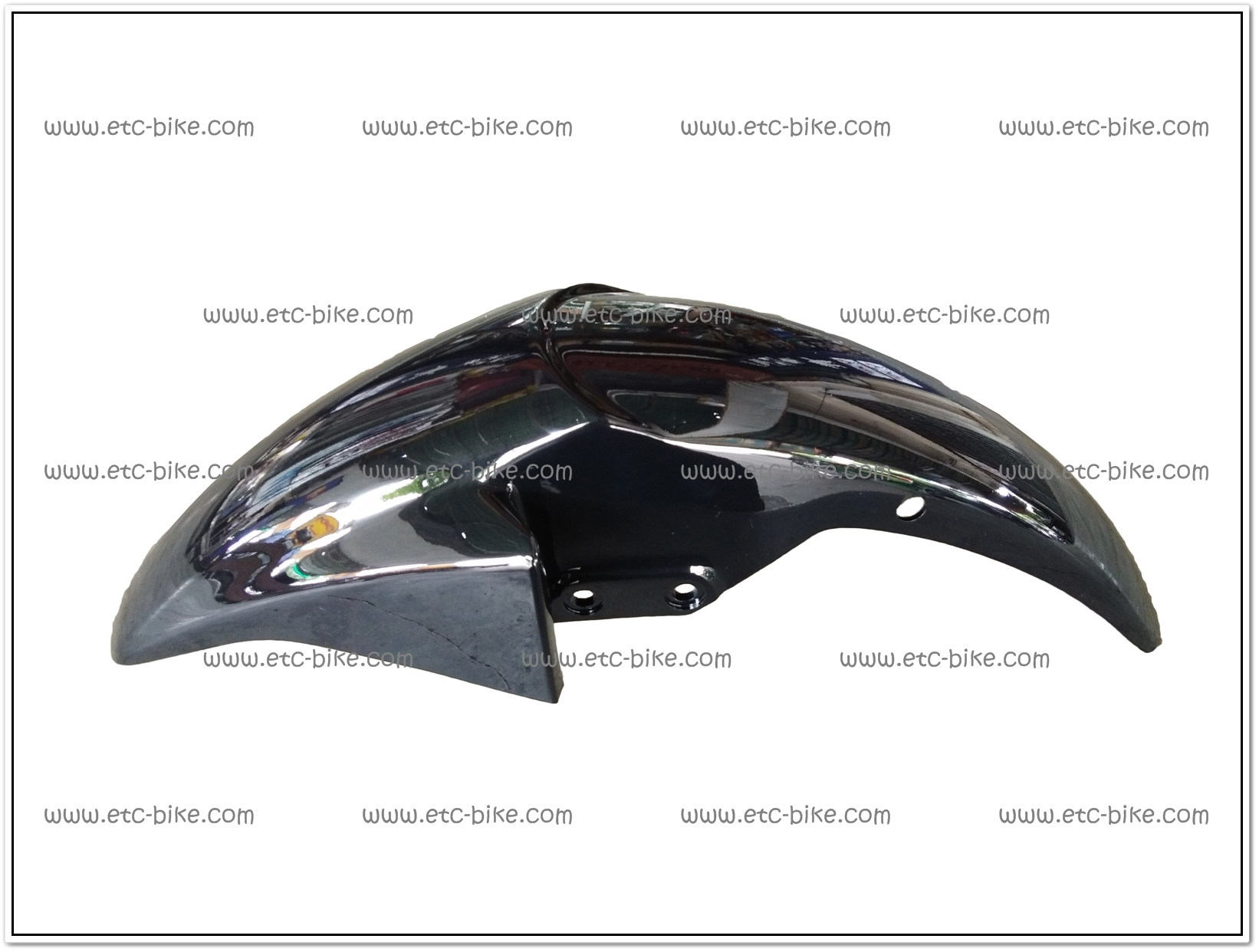 บังโคลนหน้า SONIC125-NEW (2004) สีดำ