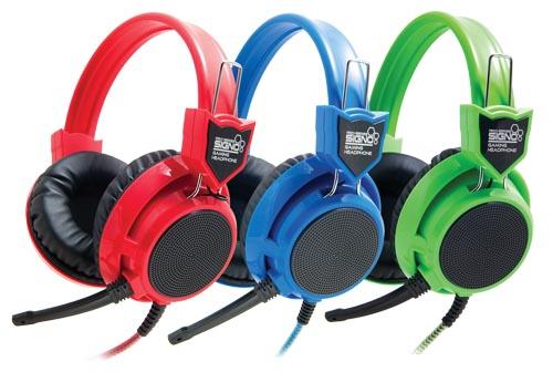 "HeadSet+Mic ""SIGNO"" (HP-802) Gaming Headset"