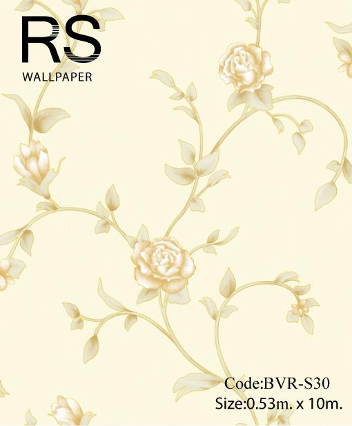วอลเปเปอร์ลายดอกไม้ BVR-S30