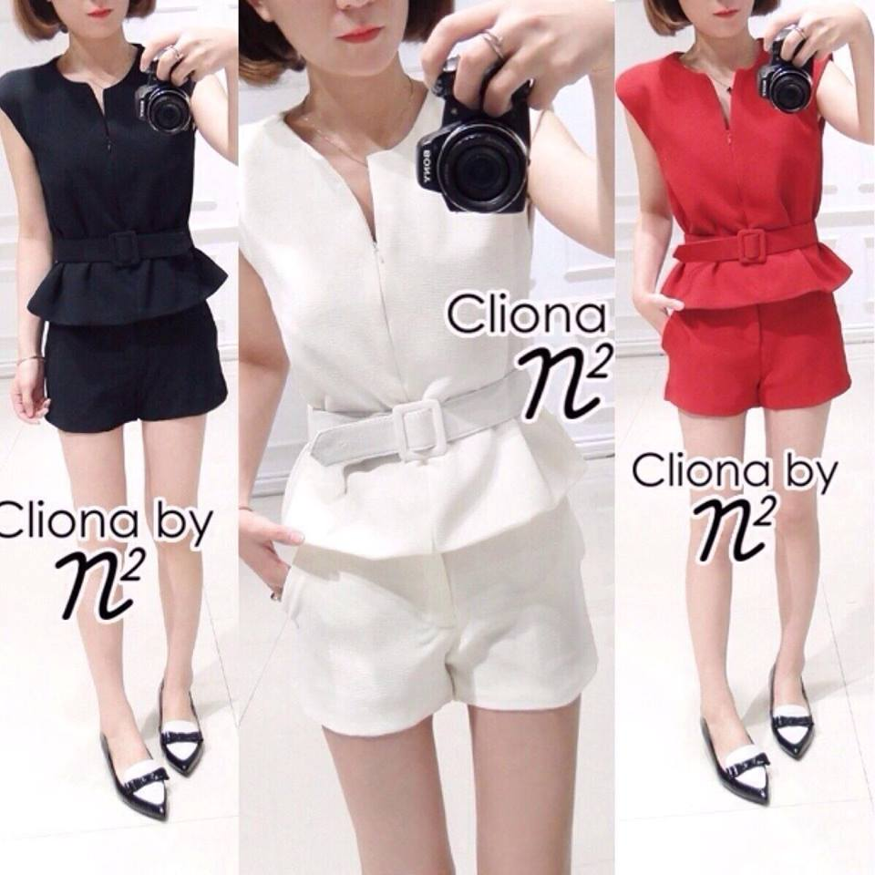 Cliona Made, N2 Pretty Pretty Chic Short Set