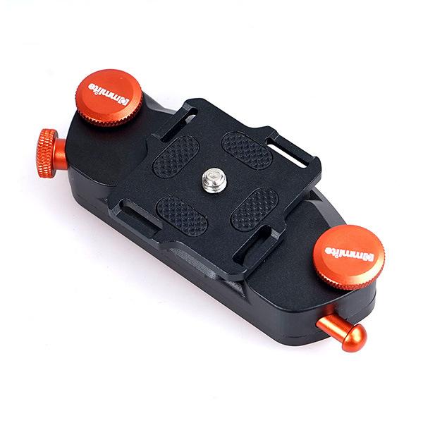 Commlite Quick Release Waist Belt Buckle Capture Clip for Gopro DSLR Camera