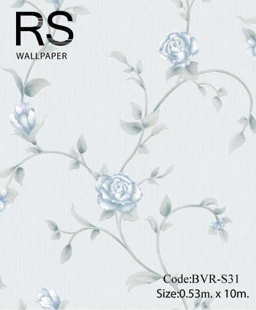 วอลเปเปอร์ลายดอกไม้ BVR-S31