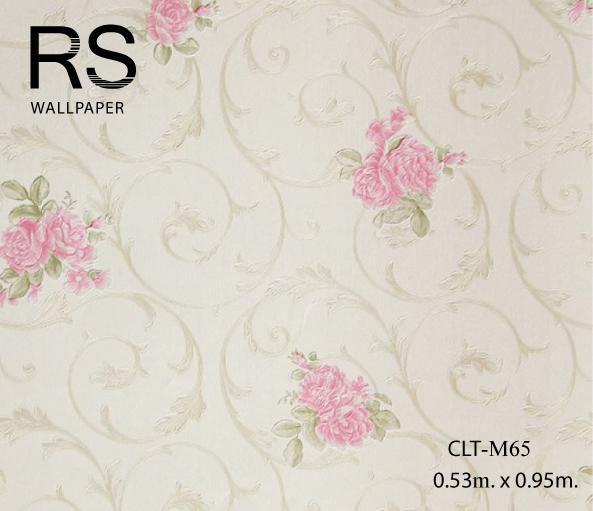วอลเปเปอร์ลายดอกไม้ CLT-M65