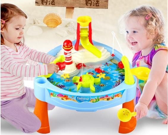 เกมส์ตกปลา fishing table fun game ส่งฟรี