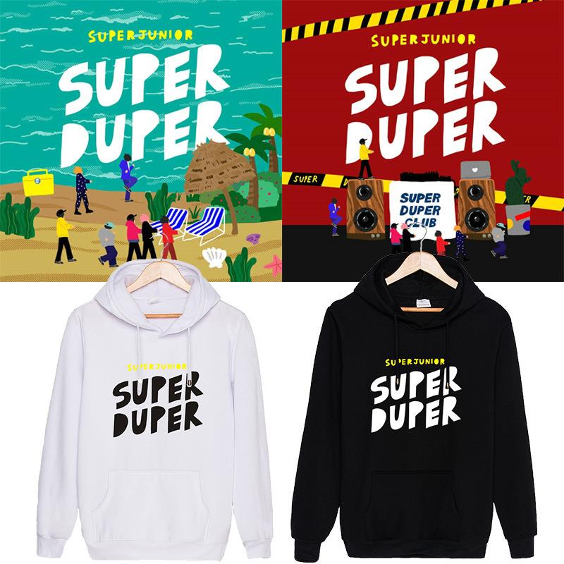 เสื้อแขนยาวมีฮู้ด SJ - Super Duper