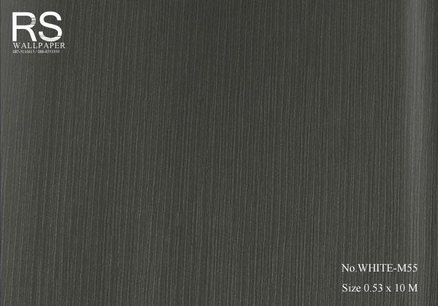 วอลเปเปอร์พื้นสีดำ WHITE-M55