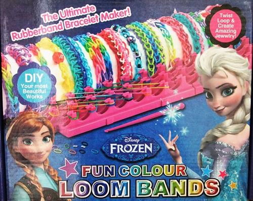 เครื่องถักกำไลยาง Frozen