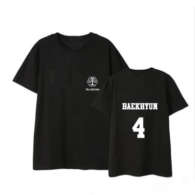 """เสื้อยืด EXO Planet #4 – """"The EℓyXiOn"""" - BAEKHYUN"""