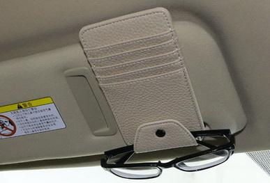 ที่เสียบบัตร/แว่นตาติดม่านบังแดด V2