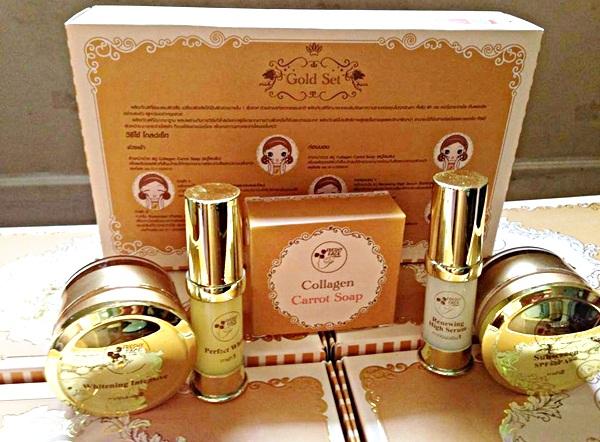 Freshy Face Gold Set ครีมถุงทอง ราคาถูก