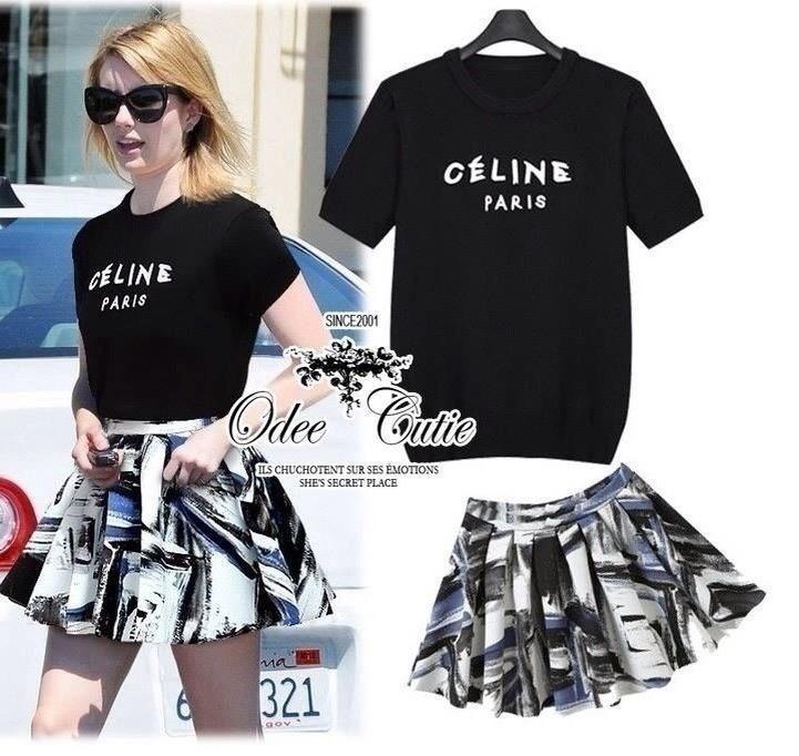 Celine Paris set