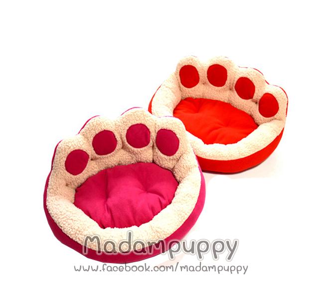 ที่นอนน้องหมา เบาะนอนรูปอุ้งเท้าน้องหมา ไซส์ L