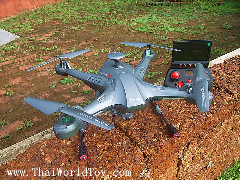 SkyHunter LS-128 FPV โดรนบังคับดูภาพจากหน้าจอรีโมท