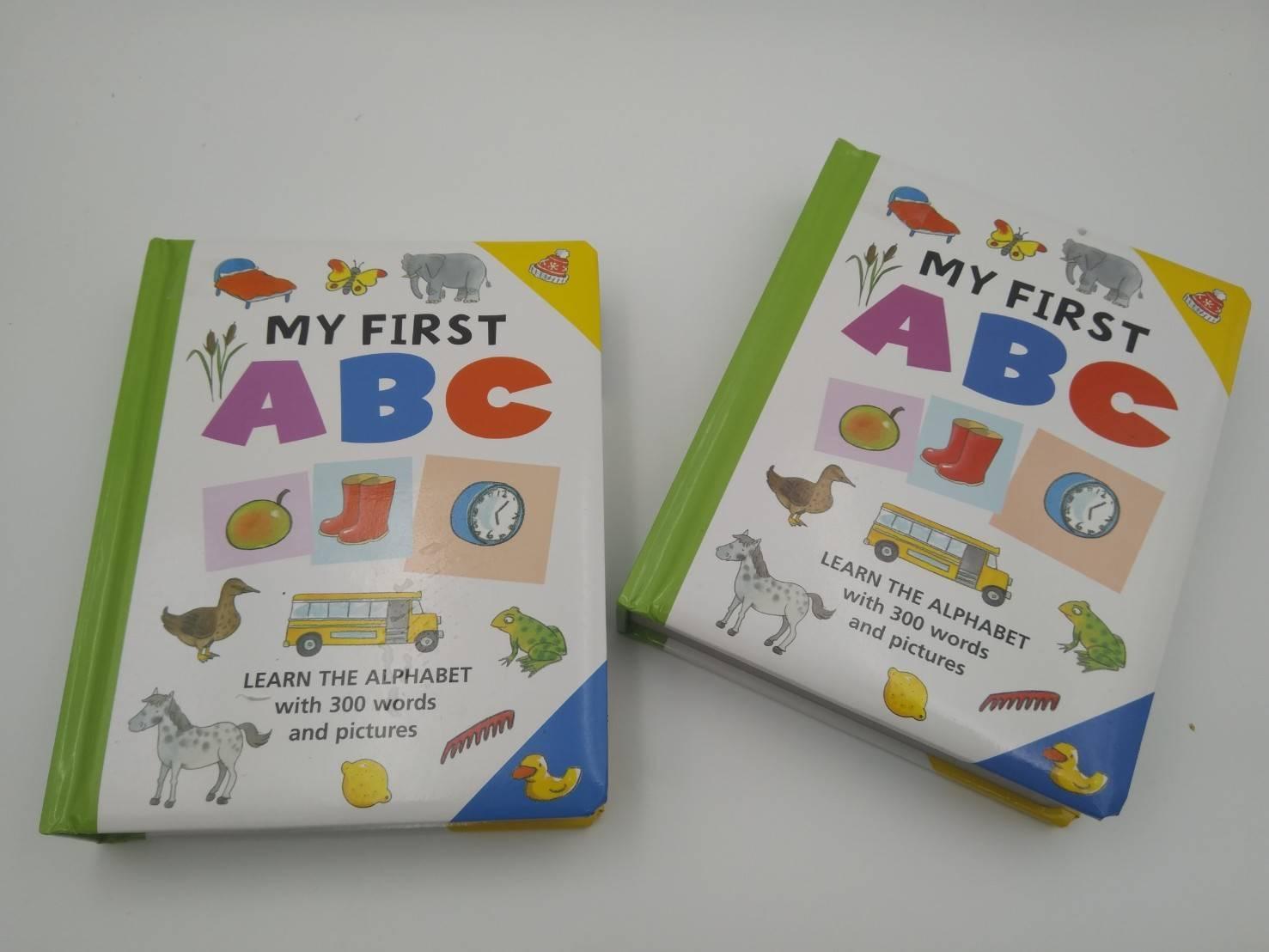 My First ABC มาเรียนรู้ตัวอักษรและคำศัพท์กังหนังสือบอร์ดบุคดีๆ ราคาเบาๆ กันจ้า