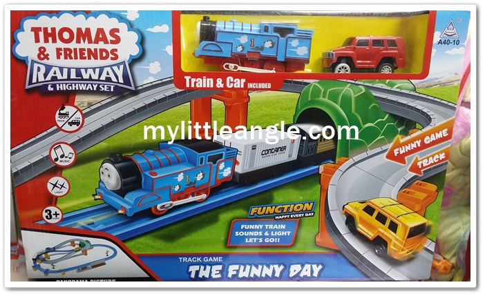 รถไฟ Thomas and the friends Railways The funny day ส่งฟรี