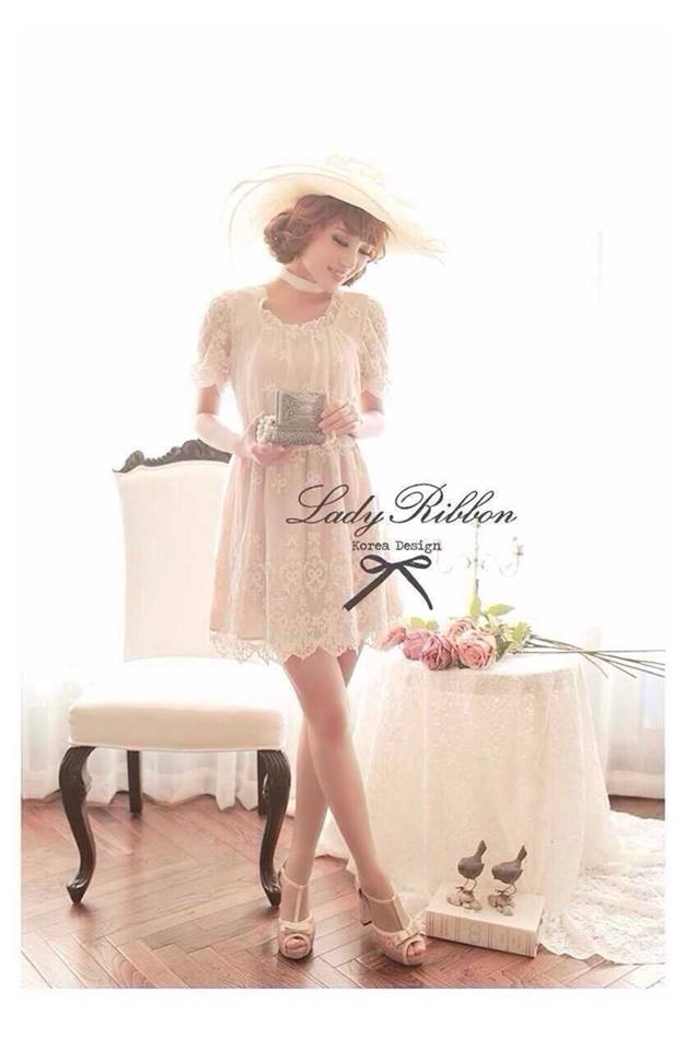 Lady Ribbon Sweet Dolly Cocktail Dress