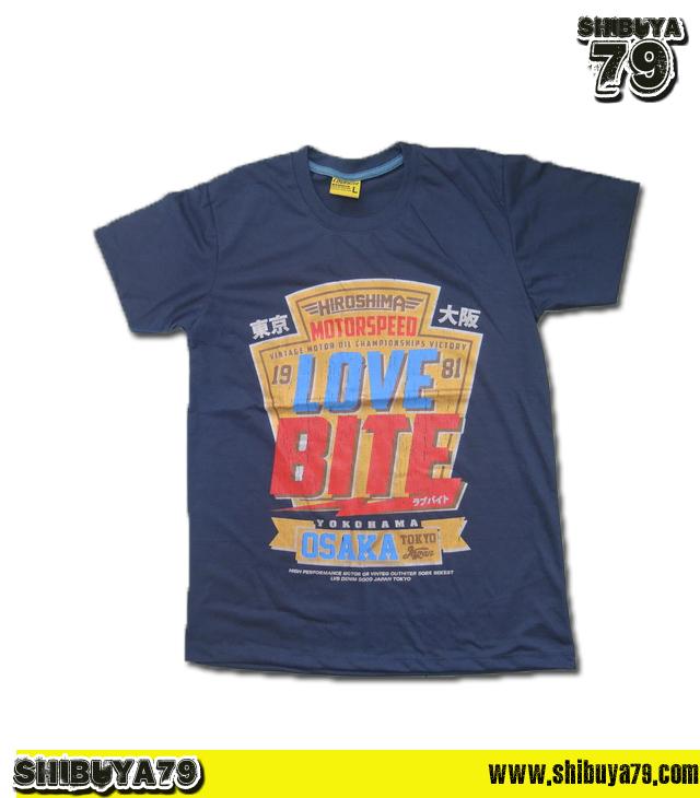 เสื้อยืดชาย Lovebite Size L - Lovebite 1981