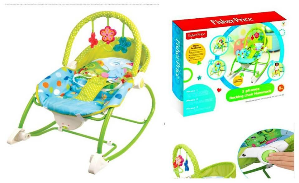 เปลโยก/เก้าอี้สั่นอัตโนมัติ Fisher Price: Sooth n Play